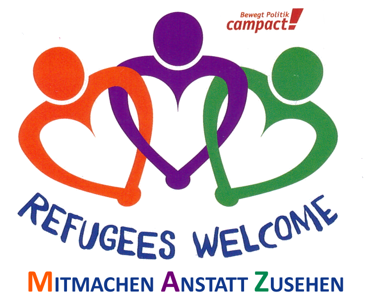 Refugees wellcome!